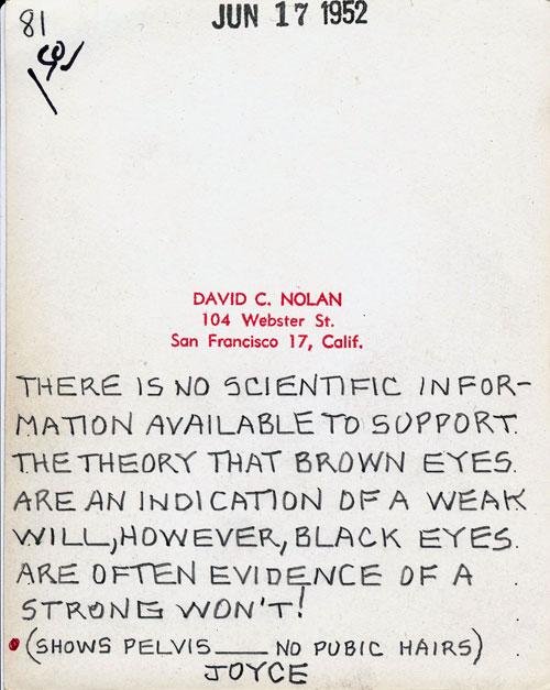 David C. Nolan vintage smut