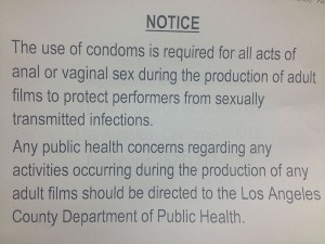 Condom Warning