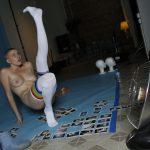 Riley Nixon strikes a pose!